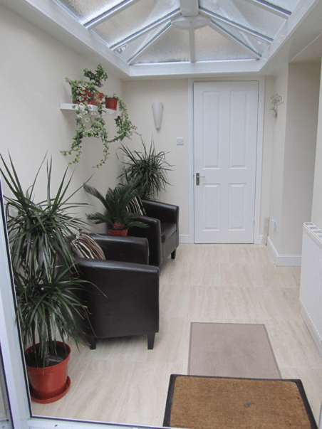 Practice room - waiting area penzance bwrt hypnotherapy and more